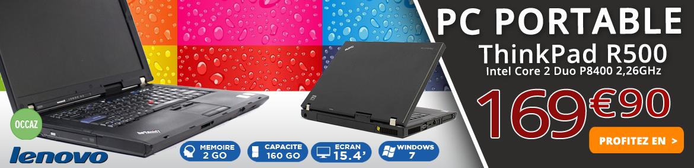 PC Portable Lenovo ThinkPad R500